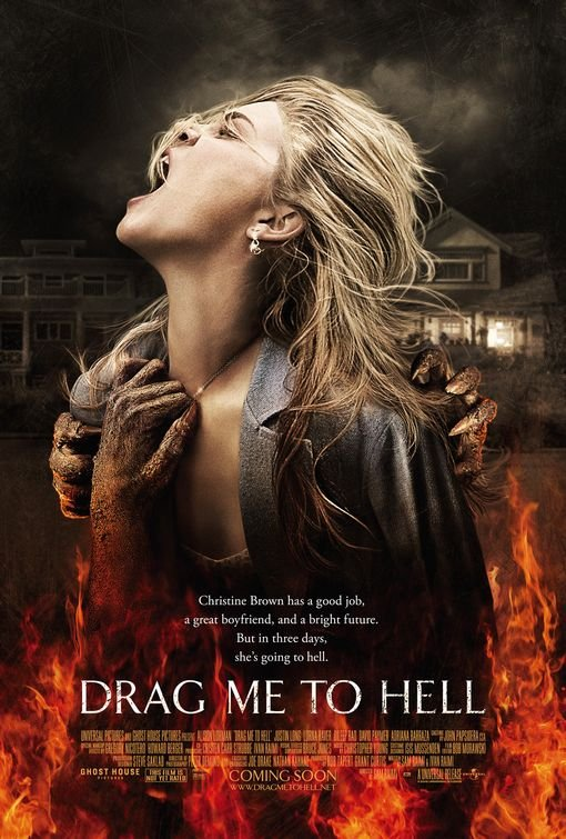 DRAG ME TO HELL ORIG Movie Poster 27X40 SINGLE SIDED