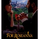 FOR ROSEANNA  MOVIE Poster ORIG 27 X40 SINGLE SIDED