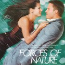 Forces Of Nature Green Original Movie Poster Double Sided 27 x40