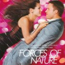 Forces Of Nature Pink Original Movie Poster Double Sided 27 x40