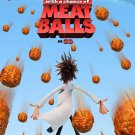 Cloudy With A Chance Of Meatballs Advance Original Movie Poster Double Sided 27 X40