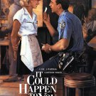 It Could Happen To You Original Movie Poster Double Sided 27x40
