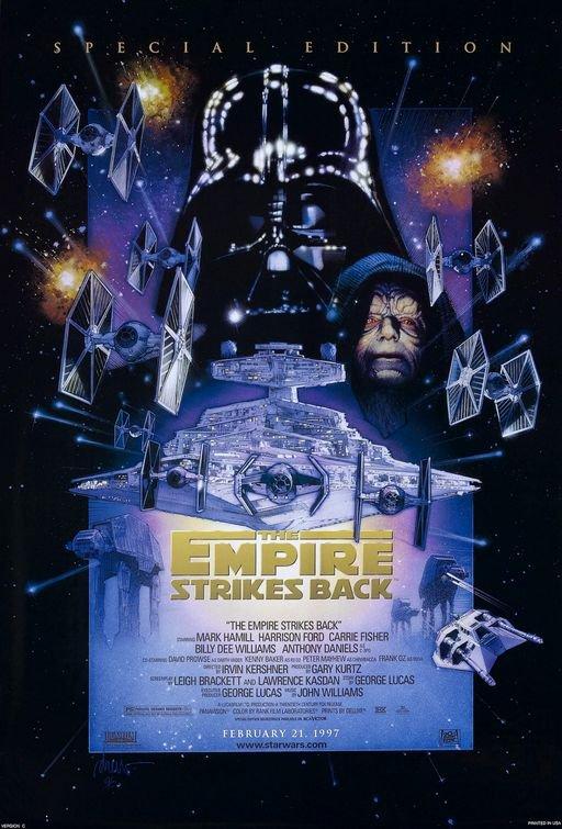 Empire Strikes Back  Original Movie PosterSingle Sided 27x40