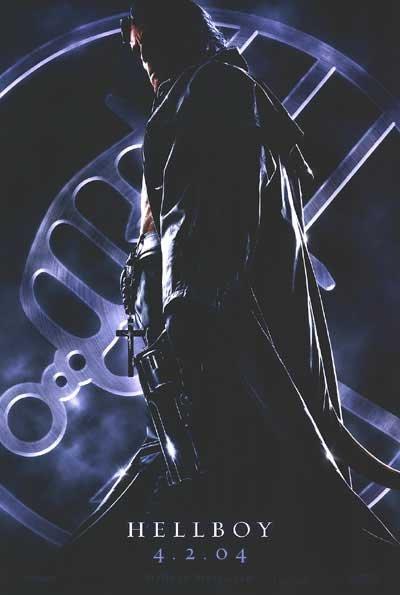 Hellboy Advance A Original Movie Poster Single Sided 27x40