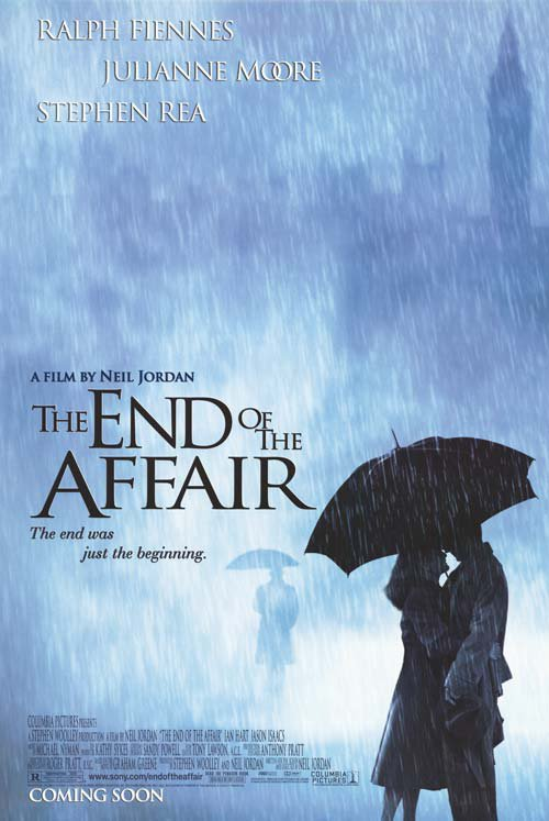End Of The Affair Intl  Original Movie Poster Double Sided 27x40