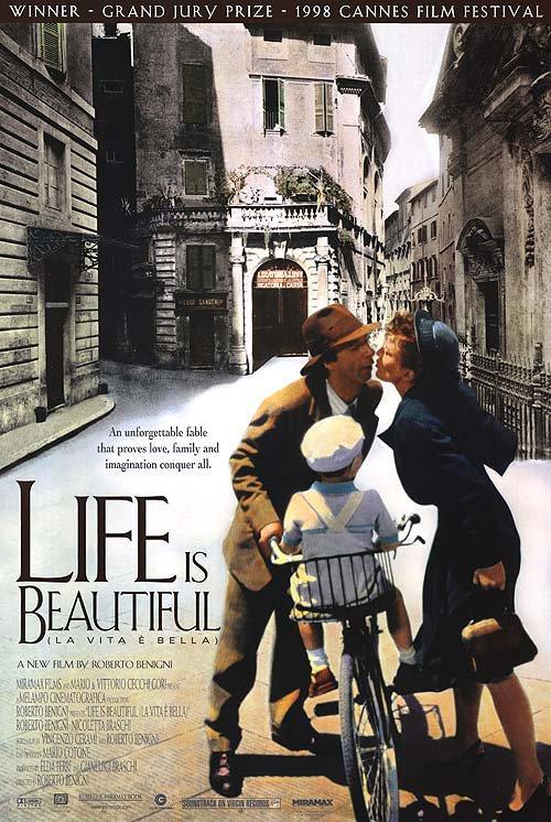 Life Is Beautiful Original Movie Poster Single Sided 27x40