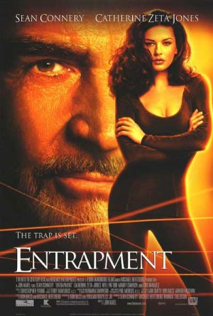 Entrapment Regular Original Movie Poster Double Sided 27x40