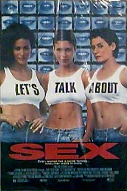 LETS Talk About Sex Original Movie Poster Single Sided 27x40