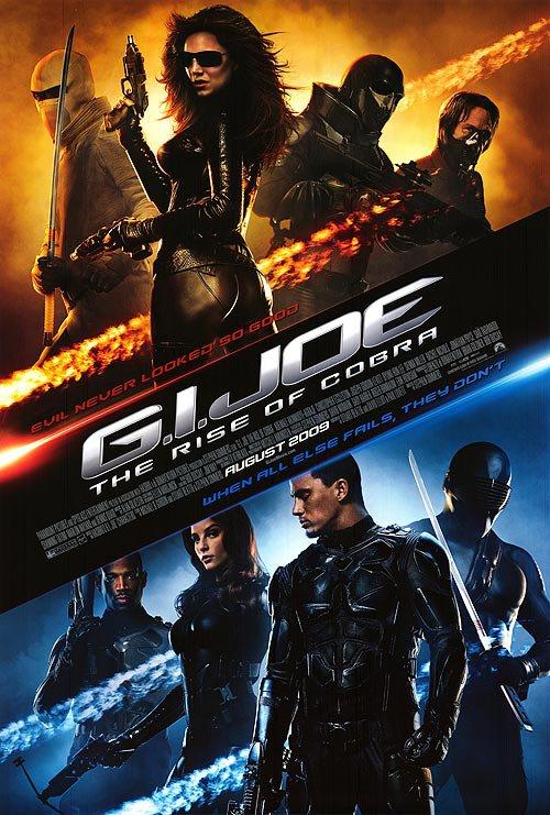 G.I. Joe : Rise Of Cobra Regular Original Movie Poster Double Sided 27x40