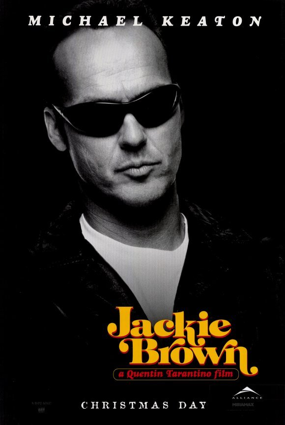 Jackie Brown (Michael Keaton) Original Movie Poster Single Sided 27x40