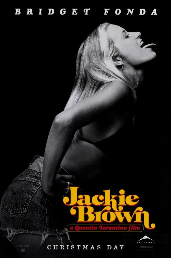 Jackie Brown (Jane Fonda) Original Movie Poster Single Sided 27x40