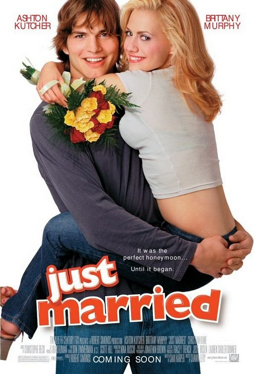 Just Married  Original Movie Poster Double Sided 27 X40