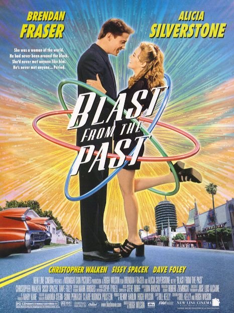 Blast From The Past Original Movie Poster Double Sided 27 X40
