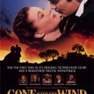 Gone With The Wind Re Release 1998 Original Movie Poster Single Sided 27 X40