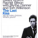 Last Kiss Original Movie Poster 27 X40 Double Sided