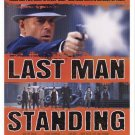 Last Man Standing Regular Original Movie Poster 27 X40 Double Sided