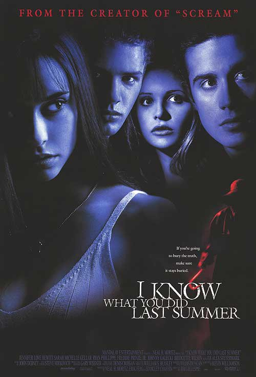 I Know What You Did Last Summer Original Movie Poster Double Sided 27 X40