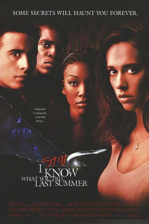I Still Know What You Did Last Summer Original Movie Poster Double Sided 27 X40