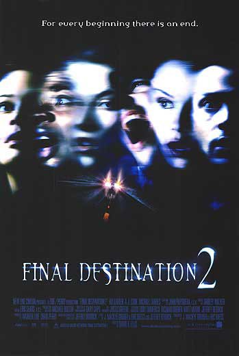 Final Destination 2 Original Movie Poster Single Sided 27 X40