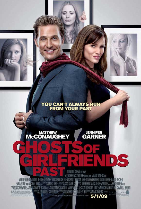 The Ghosts Of Girlfriends Past   Original Movie Poster Double Sided 27 X40