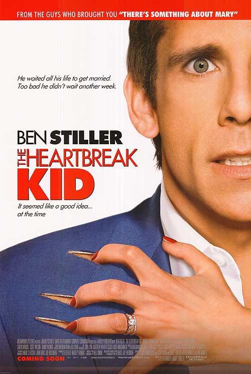 Heartbreak Kid Version B Original Movie Poster Double Sided 27 X40