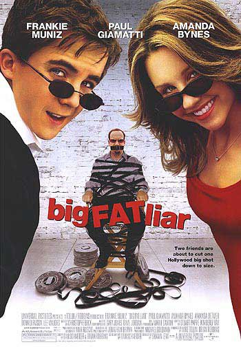 Big Fat Liar Original Movie Poster Single Sided 27 X40