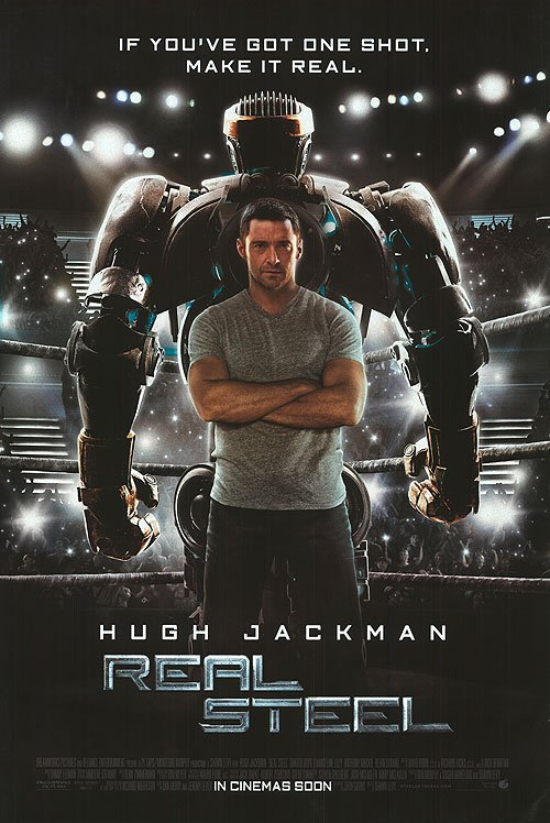 Real Steel Intl Original Movie Poster Double Sided 27 X40
