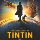 Adventures of Tintin Advance A Original Movie Poster  Double Sided 27 X40
