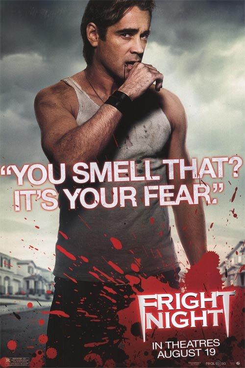 Fright Night Version A Original Movie Poster Single Sided 27 X40
