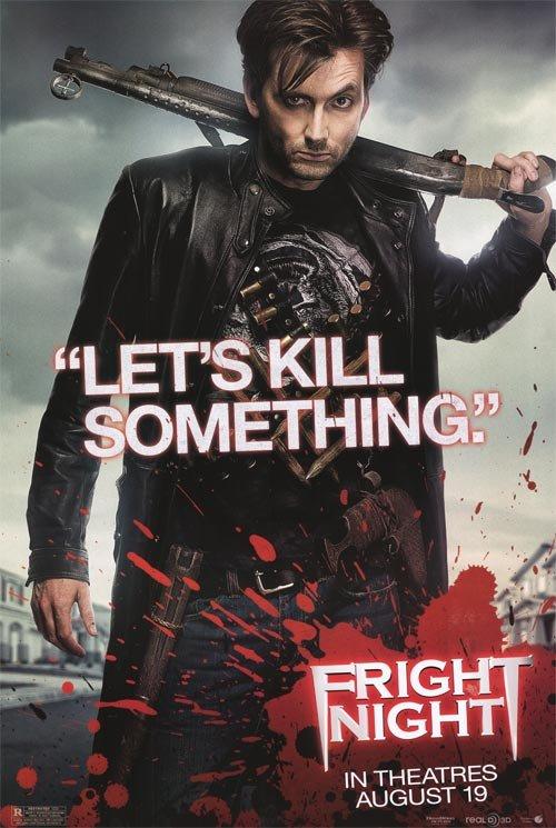 Fright Night Version B Original Movie Poster Single Sided 27 X40