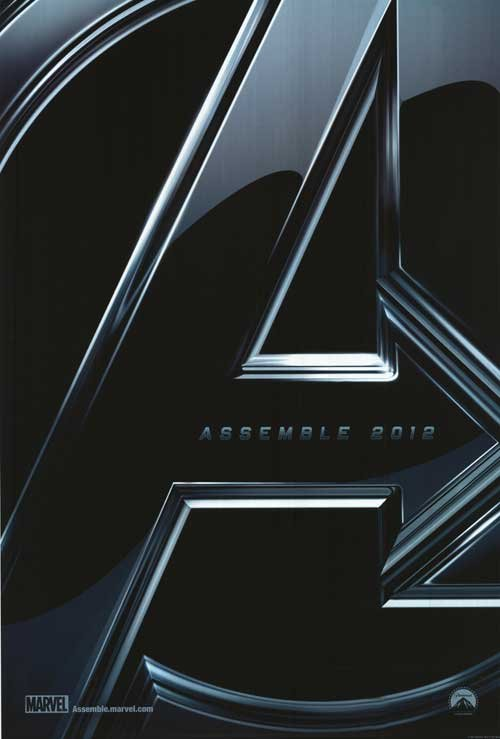 Avengers Advance Original Movie Poster Double Sided 27 X40