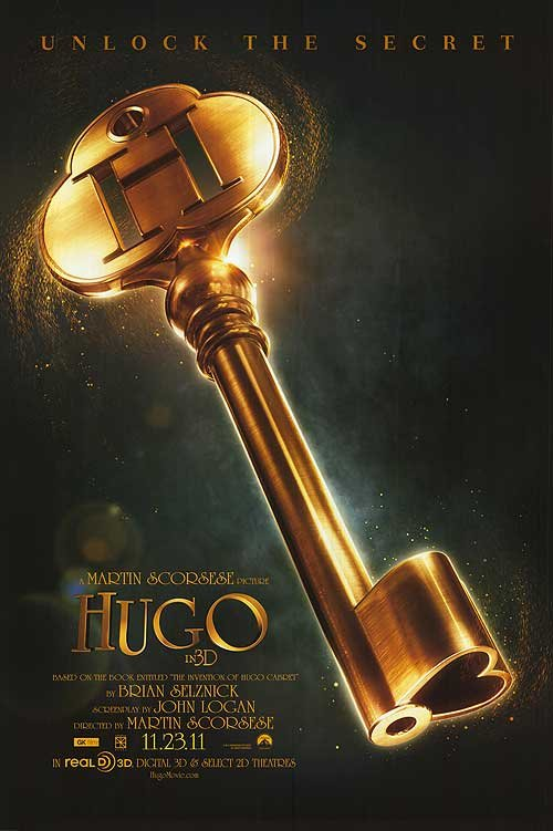 Hugo Advance Original Movie Poster  Double Sided 27 X40