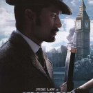 Sherlock Holmes : Games of Shadow (J. Law) Orig Movie Poster  Dbl Sided 27X40