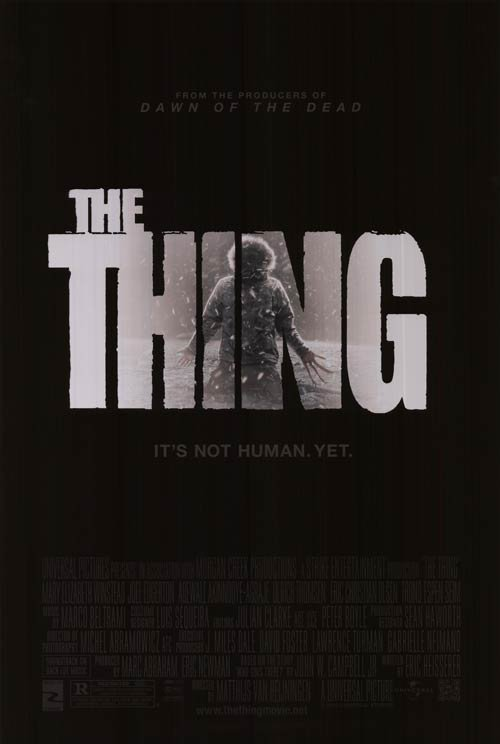 The Thing Regular Original Movie Poster  Double Sided 27 X40