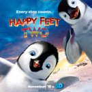 Happy Feet Original Movie Poster  Double Sided 27 X40