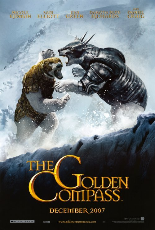 Golden Compass Version B Original Movie Poster Double Sided 27x40