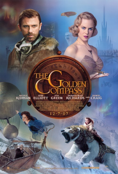 Golden Compass Version C Original Movie Poster Double Sided 27x40