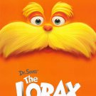 The Lorax Advance Original Movie Poster Double Sided 27x40