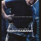 Contraband Advance Original Movie Poster Double Sided 27x40