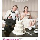 Five-Year Engagement Original Movie Poster Double Sided 27x40