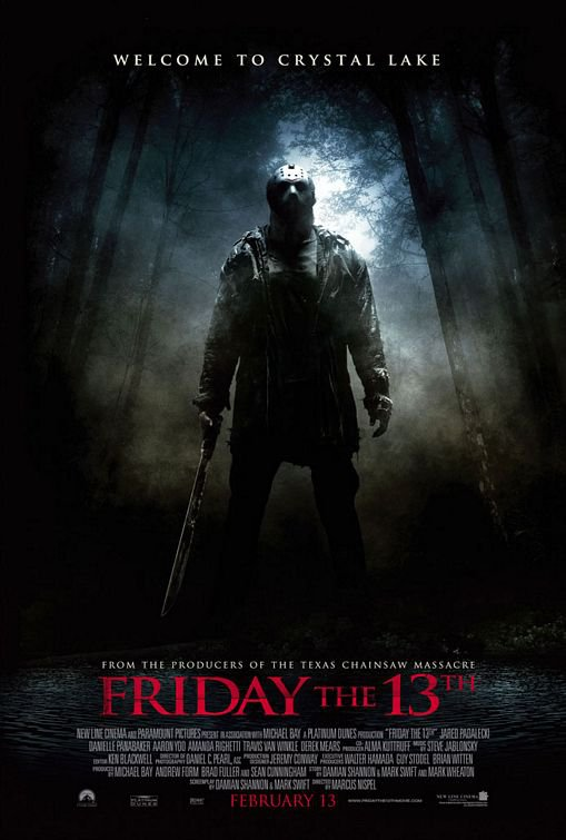 Friday The 13Th Regular Original Movie Poster Double Sided 27 X40