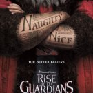 Rise Of The Guardians Advance Original Movie Poster Double Sided 27 X40