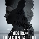 The Girl With The Dragon Tattoo Regular Original Movie Poster Double Sided 27x40