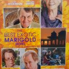 Best Exotic Marigold Hotel Original Movie Poster Double Sided 27x40