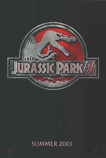 Jurassic Park III Advance Original Movie Poster Double Sided 27x40