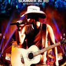 Kenny Chesney Summer 3D Original Movie Poster Double Sided 27x40