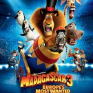 Madagascar 3 Intl Version A Original Movie Poster Double Sided 27x40