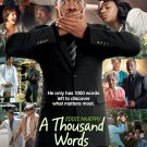 Thousand Words Movie Original Movie Poster Double Sided 27 X40