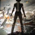 Resident Evil : Retribution Advance Original Movie Poster Double Sided 27 X40