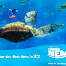 Finding Nemo in 3D In Cinema Ver A Vinyl With Adhesive Backing 24x36